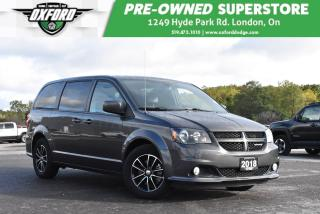 Used 2018 Dodge Grand Caravan GT - Very Clean, Great Family Vehicle, Affordable for sale in London, ON