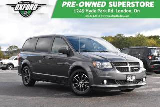 Used 2018 Dodge Grand Caravan GT - Immaculate Condition, Former Daily Rental for sale in London, ON