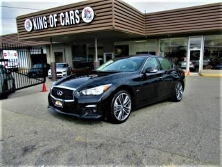 Used 2016 Infiniti Q50 S Sport for sale in Langley, BC