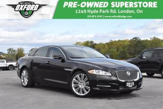 Used 2015 Jaguar XJ XJL 3.0L Portfolio - Luxury Features, Front Seats for sale in London, ON