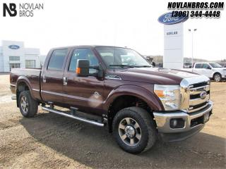 Used 2011 Ford F-350 Super Duty Lariat  - Leather Seats for sale in Paradise Hill, SK