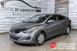 Used 2013 Hyundai Elantra GL for sale in Laval, QC