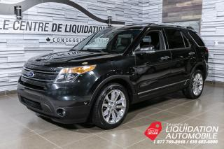 Used 2013 Ford Explorer Limited+AWD+TOIT+MAGS+DVD+GPS for sale in Laval, QC