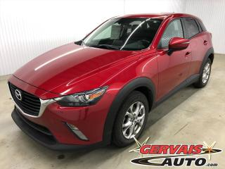 Used 2017 Mazda CX-3 GS AWD GPS MAGS CAMÉRA SIÈGES CHAUFFANTS for sale in Shawinigan, QC