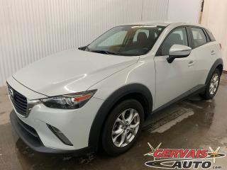 Used 2017 Mazda CX-3 GS AWD Mags Caméra de recul Sièges chauffants *Bas Kilométrage* for sale in Shawinigan, QC