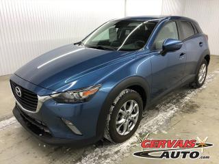 Used 2018 Mazda CX-3 GS MAGS CAMÉRA BLUETOOTH SIÈGES CHAUFFANTS GPS for sale in Shawinigan, QC
