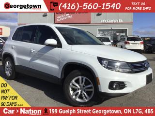 Used 2014 Volkswagen Tiguan Trendline | 4MOTION | TINTS | ALLOYS | BLU TOOTH for sale in Georgetown, ON