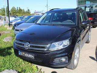 Used 2016 Volkswagen Tiguan COMFORTLINE,4 MOTION,TOIT PANO,CUIRETTE,CAMERA DE for sale in Lasalle, QC