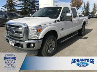 Used 2016 Ford F-350 Lariat Clean Carfax - One Owner - Leather for sale in Calgary, AB