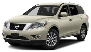 Used 2014 Nissan Pathfinder SL One Owner - Clean Carfax for sale in Calgary, AB