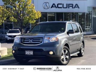 Used 2012 Honda Pilot EX-L 4WD 5AT 8 Passenger, Backup Cam, Bluetooth for sale in Markham, ON