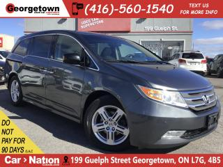 Used 2011 Honda Odyssey Touring w RES|LTHR|NAVI|BU CAM|SUNROOF|PWR DOORS for sale in Georgetown, ON