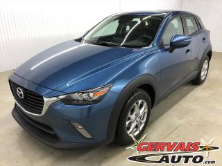 Used 2018 Mazda CX-3 GS MAGS CAMÉRA BLUETOOTH SIÈGES CHAUFFANTS GPS for sale in Trois-Rivières, QC