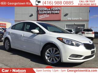 Used 2015 Kia Forte 1.8L LX+ | SUNROOF | ALLOYS | HTD SEATS for sale in Georgetown, ON