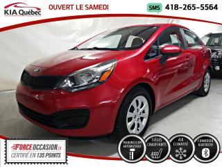 Used 2015 Kia Rio LX+* AT* A/C* SIEGES CHAUFFANTS* for sale in Québec, QC