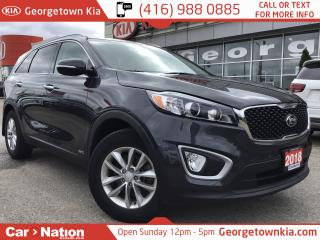 Used 2018 Kia Sorento LX | AWD | HTD SEATS | BU CAM for sale in Georgetown, ON