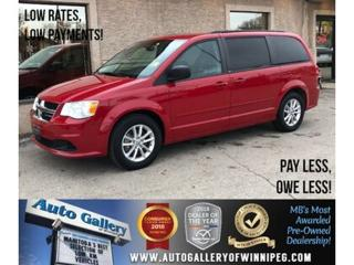 Used 2013 Dodge Grand Caravan SXT *B.tooth/StowN'Go/Rear Air/Pwr Doors/7Pass/V6 for sale in Winnipeg, MB