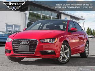 Used 2015 Audi A3 2.0T Komfort quattro 6sp S tronic for sale in Ottawa, ON