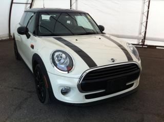 Used 2017 MINI 3 Door Cooper DUAL PANE SUNROOF, PUSH START IGNITION, HEATED LEATHER SEATING for sale in Ottawa, ON