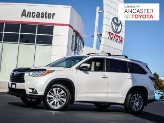 Used 2016 Toyota Highlander XLE - NAVI|LEATHER|SUNROOF|BLUETOOTH for sale in Ancaster, ON