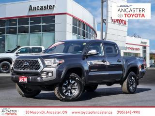 Used 2018 Toyota Tacoma TRD OFFROAD - LOW KMS|NAVI|BLUETOOTH for sale in Ancaster, ON