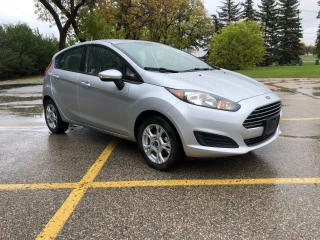 Used 2015 Ford Fiesta SE Alloys / Bluetooth / Local Trade for sale in Winnipeg, MB