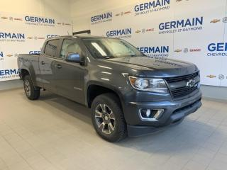 Used 2016 Chevrolet Colorado Z71-  CAMÉRA DE RECUL- DÉM. À DISTANCE- CARPLAY for sale in St-Raymond, QC