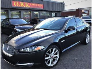 Used 2015 Jaguar XF V6-AWD-NAVIGATION-TOIT OUVRANT-CAM RECUL for sale in Laval, QC