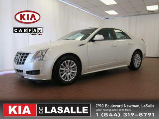Used 2013 Cadillac CTS Awd Caméra Siège for sale in Montréal, QC
