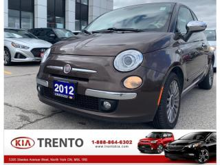 Used 2012 Fiat 500 C CONVERTIBLE|Lounge | LEATHER SEATS | ONE OWNER for sale in North York, ON