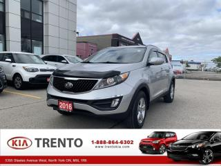 Used 2016 Kia Sportage LX FWD | ONE OWNER | ALLOYS|HEAT SEATS| LOW KM for sale in North York, ON