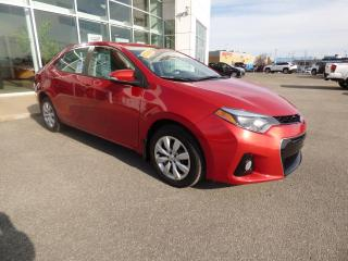 Used 2015 Toyota Corolla Berline 4 portes, boîte manuelle, S for sale in Trois-Rivières, QC