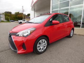 Used 2016 Toyota Yaris Hayon 5 portes, boîte automatique, LE for sale in Trois-Rivières, QC