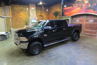 Used 2015 RAM 3500 Longhorn Diesel - Stunning Mega Cab Cummins!! for sale in Winnipeg, MB