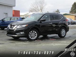 Used 2019 Nissan Rogue SV 2RM + GARANTIE + BAS KILO + A/C! for sale in Magog, QC