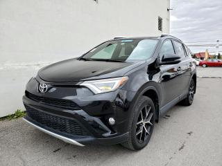 Used 2016 Toyota RAV4 SE AWD HAYON ÉLECT TOIT OUVRANT CUIR *NAV* for sale in Mirabel, QC