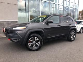 Used 2016 Jeep Cherokee TRAILHAWK V6 66$/Sem for sale in Ste-Agathe-des-Monts, QC