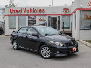 Used 2010 Toyota Corolla 4dr Sdn Auto S for sale in North York, ON