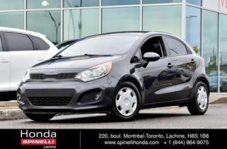 Used 2013 Kia Rio LX PLUS AUTO AC CRUISE AUTO AC CRUISE for sale in Lachine, QC