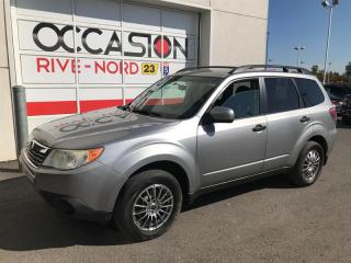 Used 2010 Subaru Forester Manuelle 4x4 full equipé for sale in Boisbriand, QC