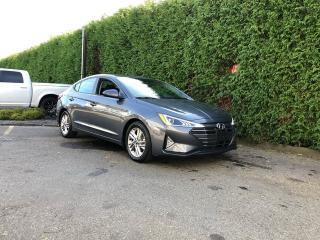 Used 2019 Hyundai Elantra Preferred + BLIND-SPOT MONITORING SYSTEM + HEATED FT SEATS & STEERING WHEEL + SUNROOF + NO EXTRA DEALER FEES for sale in Surrey, BC