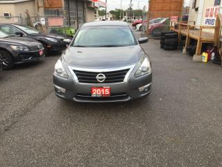 Used 2015 Nissan Altima 4 Dr Auto Backup Camra Alloy Wheels for sale in Etobicoke, ON