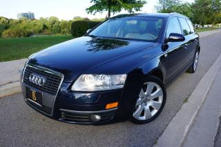 Used 2007 Audi A6 RARE / AVANT / NO ACCIDENTS / LOW KM'S / LOCAL CAR for sale in Etobicoke, ON