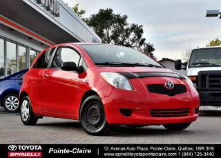 Used 2007 Toyota Yaris ***RÉSERVÉ***5 VITESSE A/C for sale in Pointe-Claire, QC