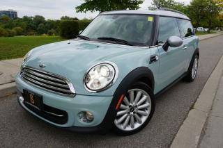 Used 2012 MINI Cooper Clubman 1 OWNER / STUNNING COLOUR / RARE / 6SPD MANUAL for sale in Etobicoke, ON
