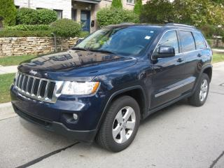 Used 2013 Jeep Grand Cherokee 4X4, LEATHER, CAM, PAN ROOF, NAVI, CERTIFIED for sale in Toronto, ON