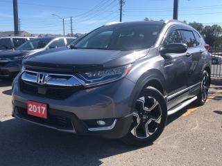 Used 2017 Honda CR-V Touring, one owner, loaded for sale in Toronto, ON