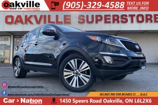 Used 2016 Kia Sportage EX LUXURY   HTD VNTD SEATS   PANO ROOF   B/U CAM for sale in Oakville, ON