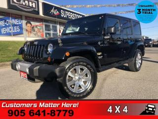 Used 2013 Jeep Wrangler Unlimited Sahara  SAHARA CAM 4WD AUTO for sale in St. Catharines, ON
