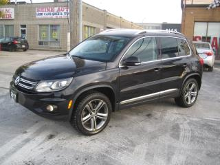 Used 2017 Volkswagen Tiguan 4MOTION  Navigation R.camera 2 sets of Tires for sale in North York, ON